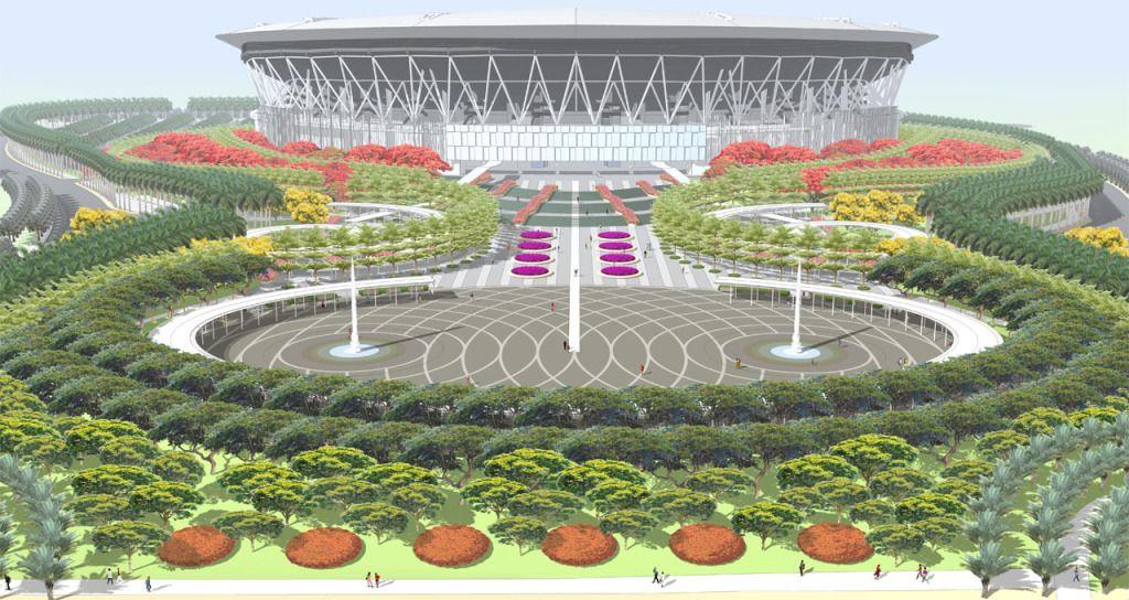 Philippine Arena Bocave Bulacanmanila A 50000 Capacity Stadium