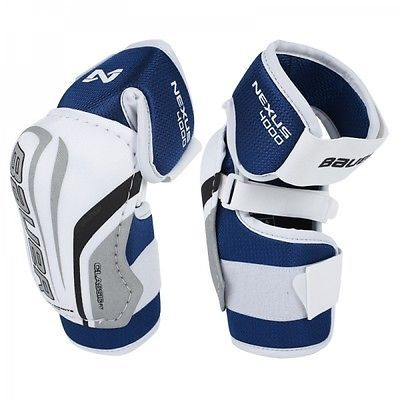 Bauer Nexus 4000 Ice Hockey Elbow Pads Junior Senior Sizes Pads Guards Ice Hockey Hockey Elbow Pads Ice Hockey Hockey