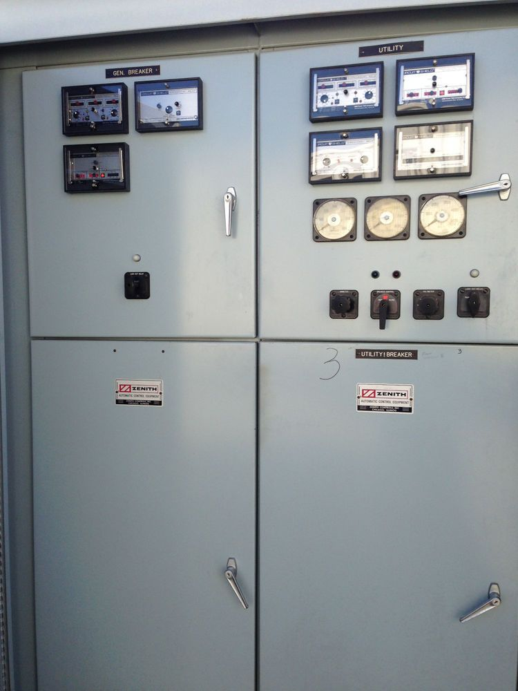 1200 Amp 5 Kv Automatic Transfer Switch Zenith Abb Ge