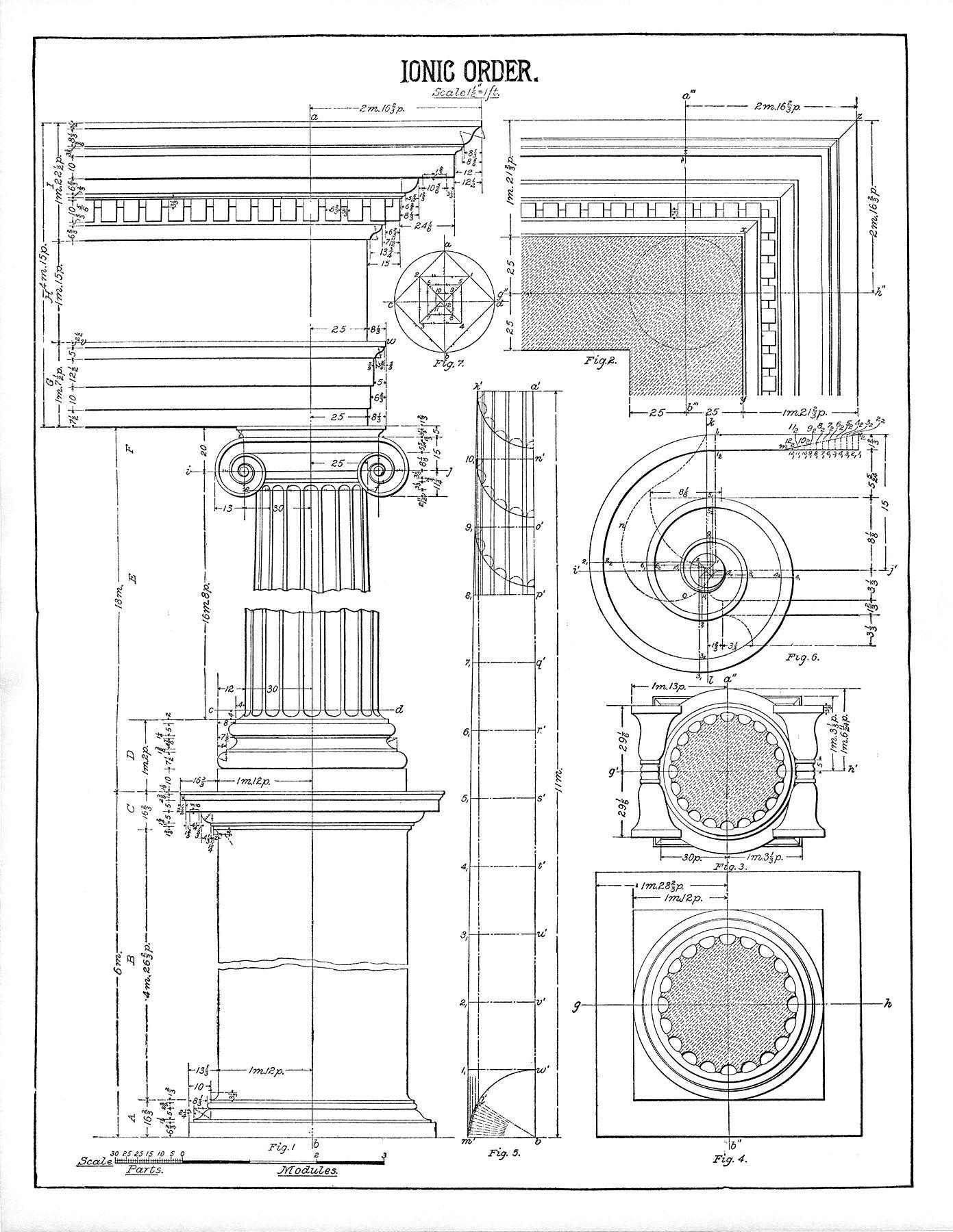 Architecture Printable Ionic