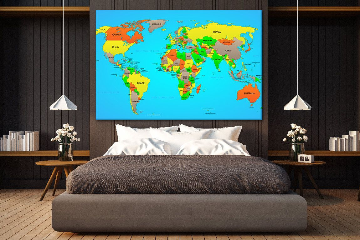 Push pin cotton map world travel map push pin world map canvas map push pin cotton map world travel map push pin world map canvas map of world canvas wall art pinboard canvas world map wall wood world map gumiabroncs Gallery