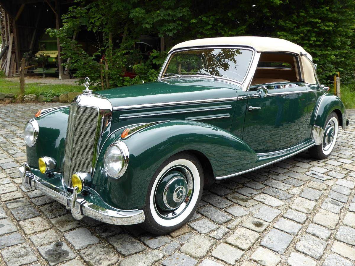 1952 MercedesBenz 220A Cabriolet A Mercedes benz