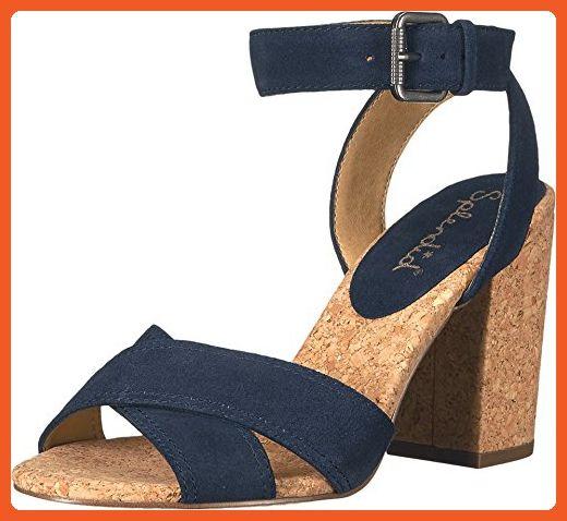 Womens Birdie Sandals, Navy, 8 B(M) US Splendid