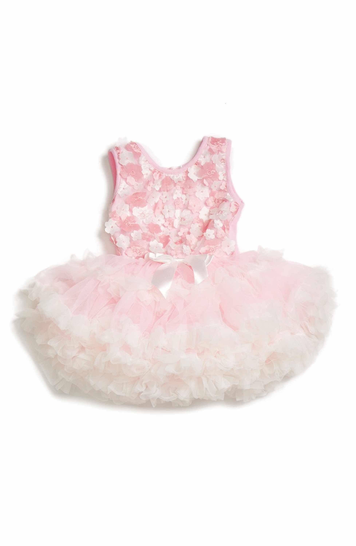 fadacdf97a62 Main Image - Popatu Floral Appliqué Pettidress (Baby Girls) | Babies ...