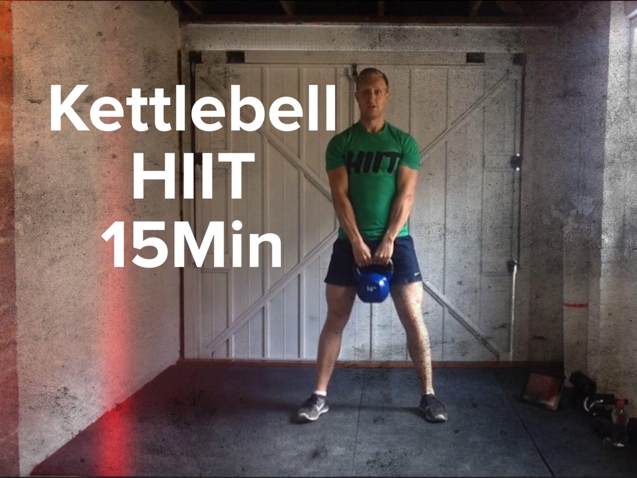 Kettlebell HIIT Workout 15Min | exercise | Pinterest | Watches ...
