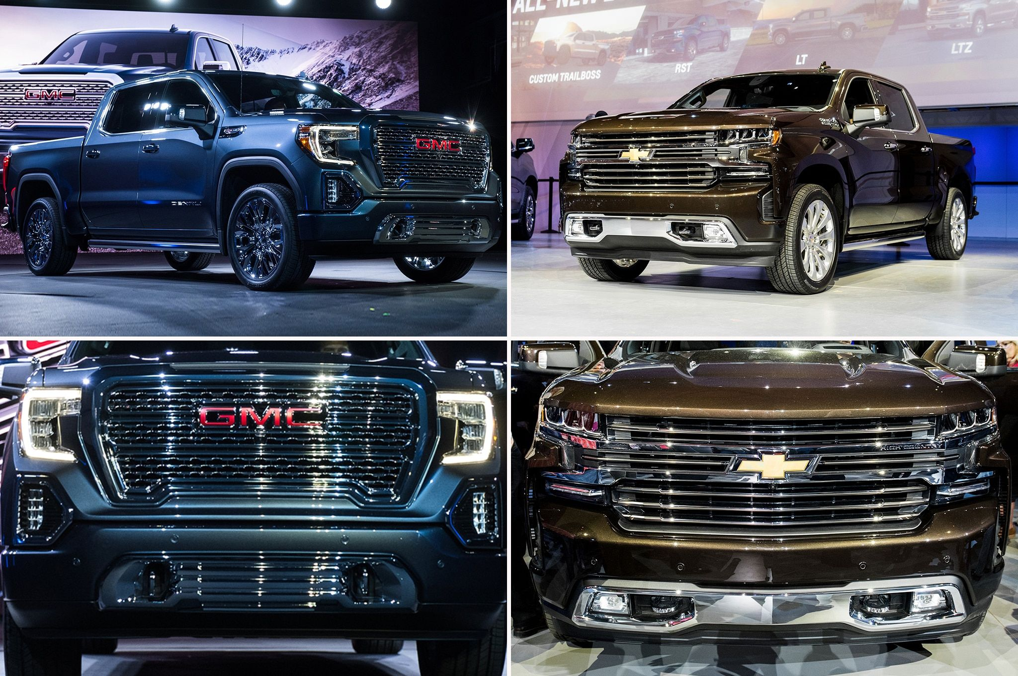 Refreshing Or Revolting 2019 Gmc Sierra Vs 2019 Chevrolet