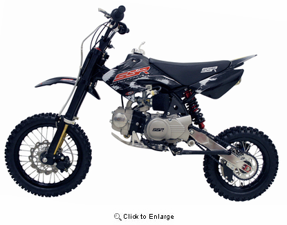 Ssr 125 E4 Pit Bike Dirt Bike Motorcycle Pit Bike Mini Bike