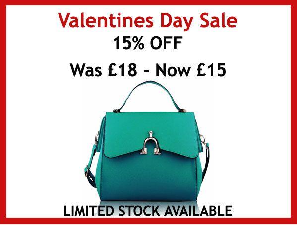 This Jade Green Grab Bag is now 15% Off www.mybodaciousbag.com