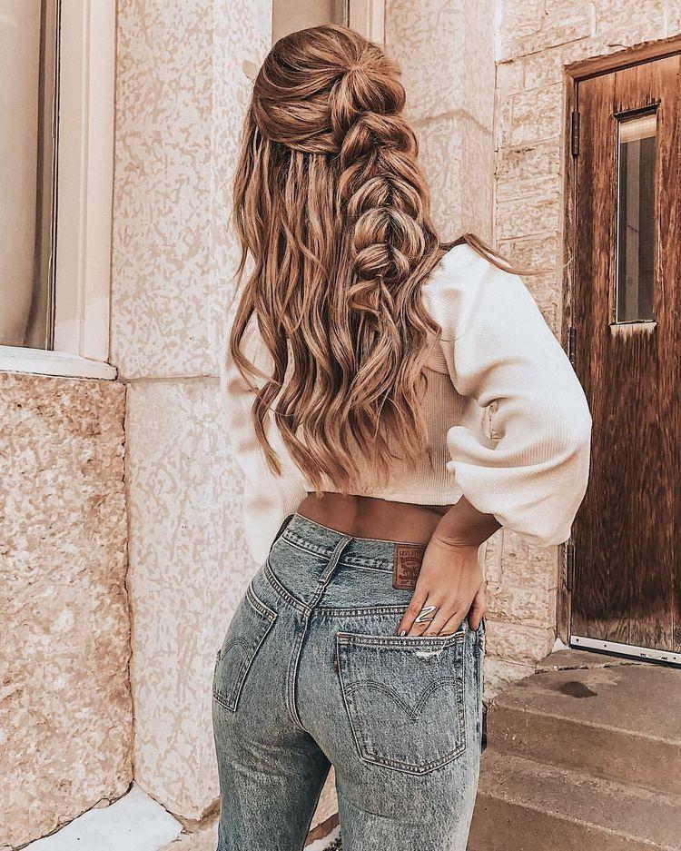 Pinterest Natalyabelous11 In 2020 Hair Styles Long Hair Styles Cute Hairstyles