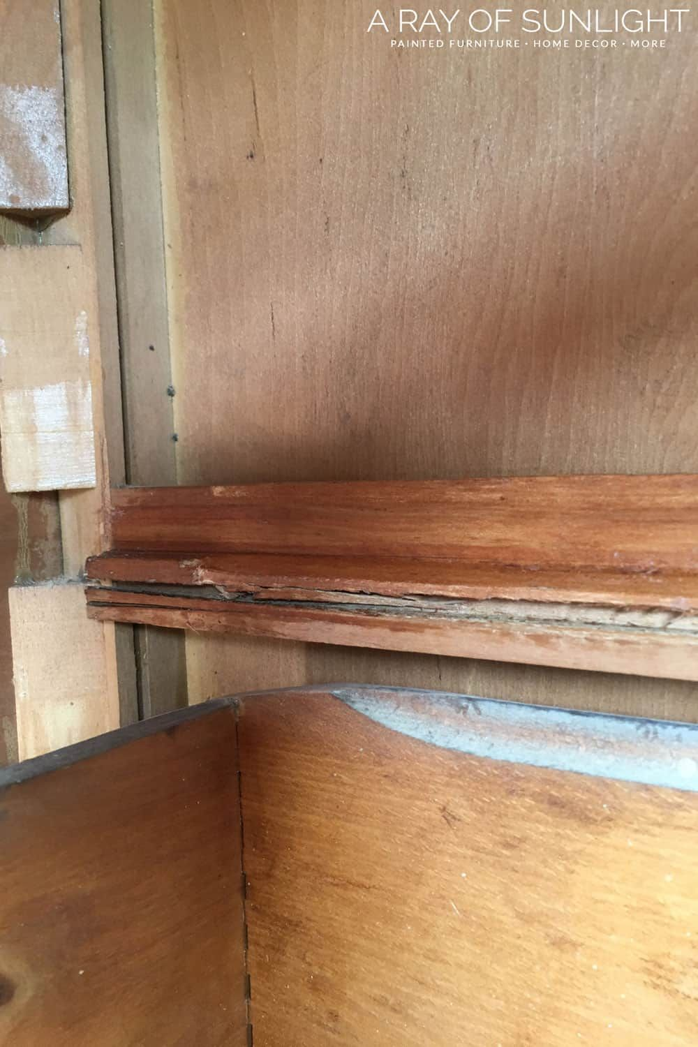 How To Fix Old Dresser Drawers That Stick Dresser Drawer Slides Old Dresser Drawers Old Dressers