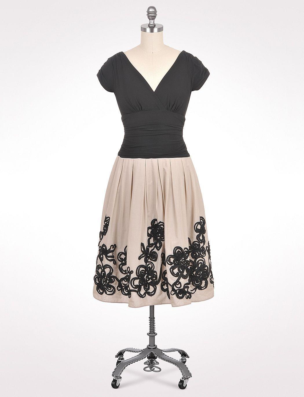 Misses dresses special occasion dresses swirl detail dress
