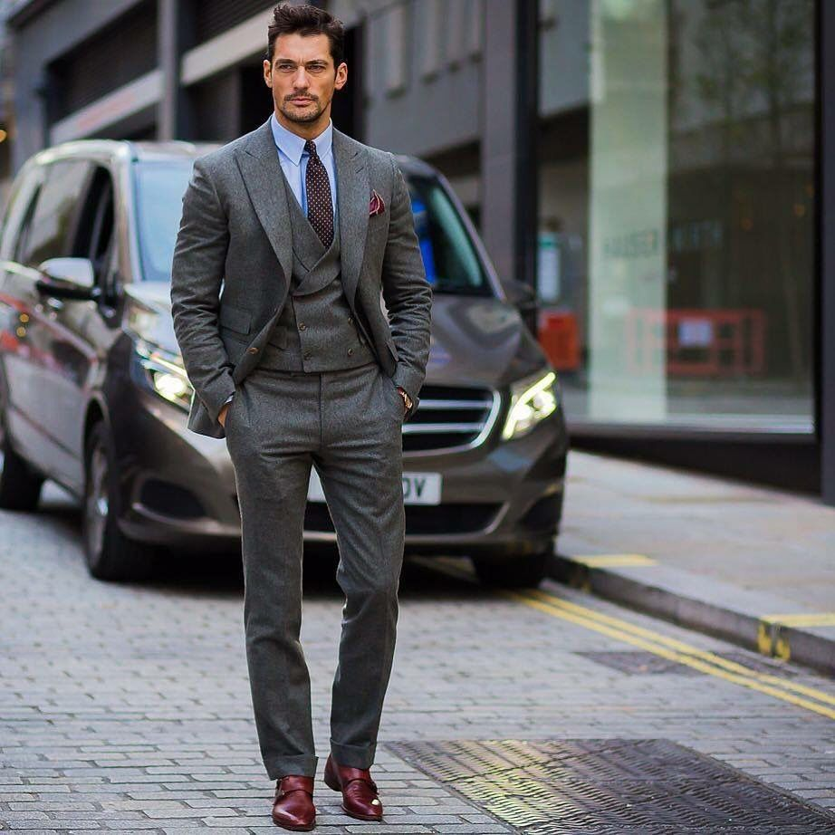 641510755ec Suit by Chester Barrie  tie by Suitsupply. Photo courtesy STYLE DU MONDE  via The New York Times Styles
