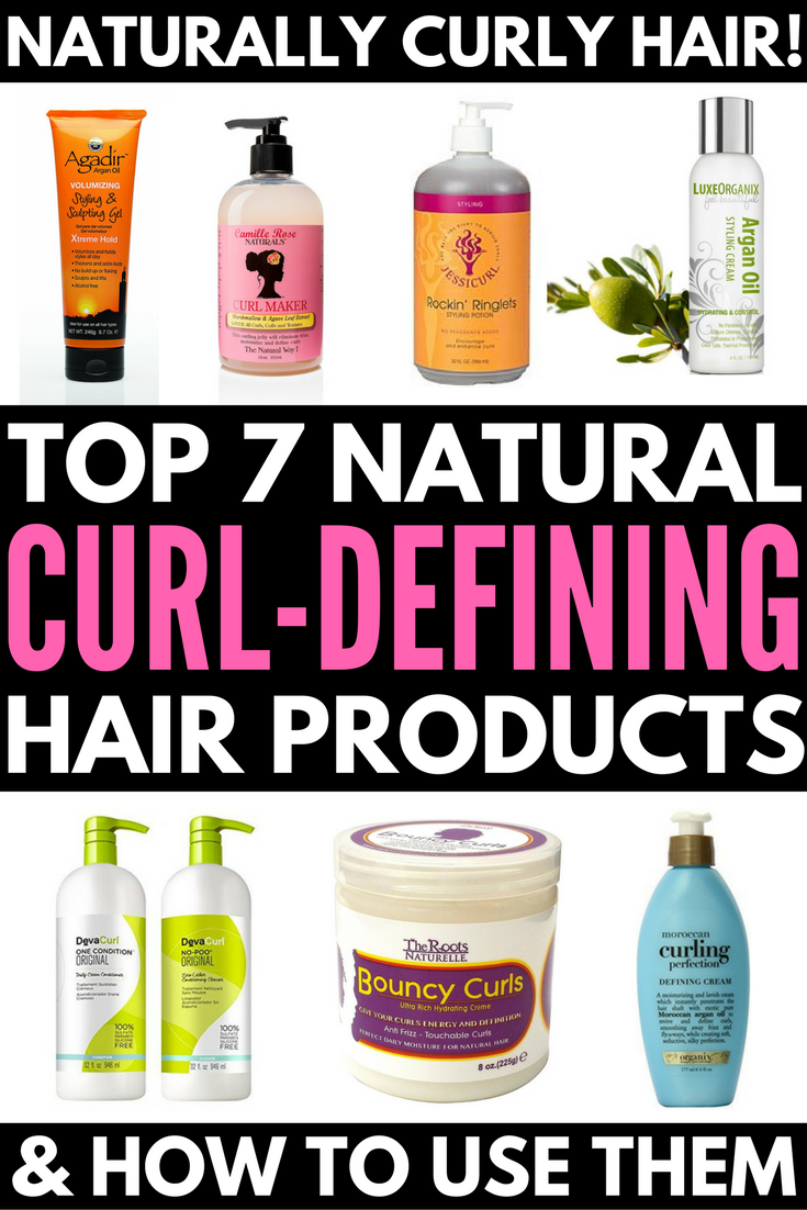 7 Natural Hair Care Products for Curly Hair and How to Use