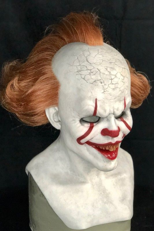 IN STOCK Pennywise IT Silicone Mask Pennywise mask