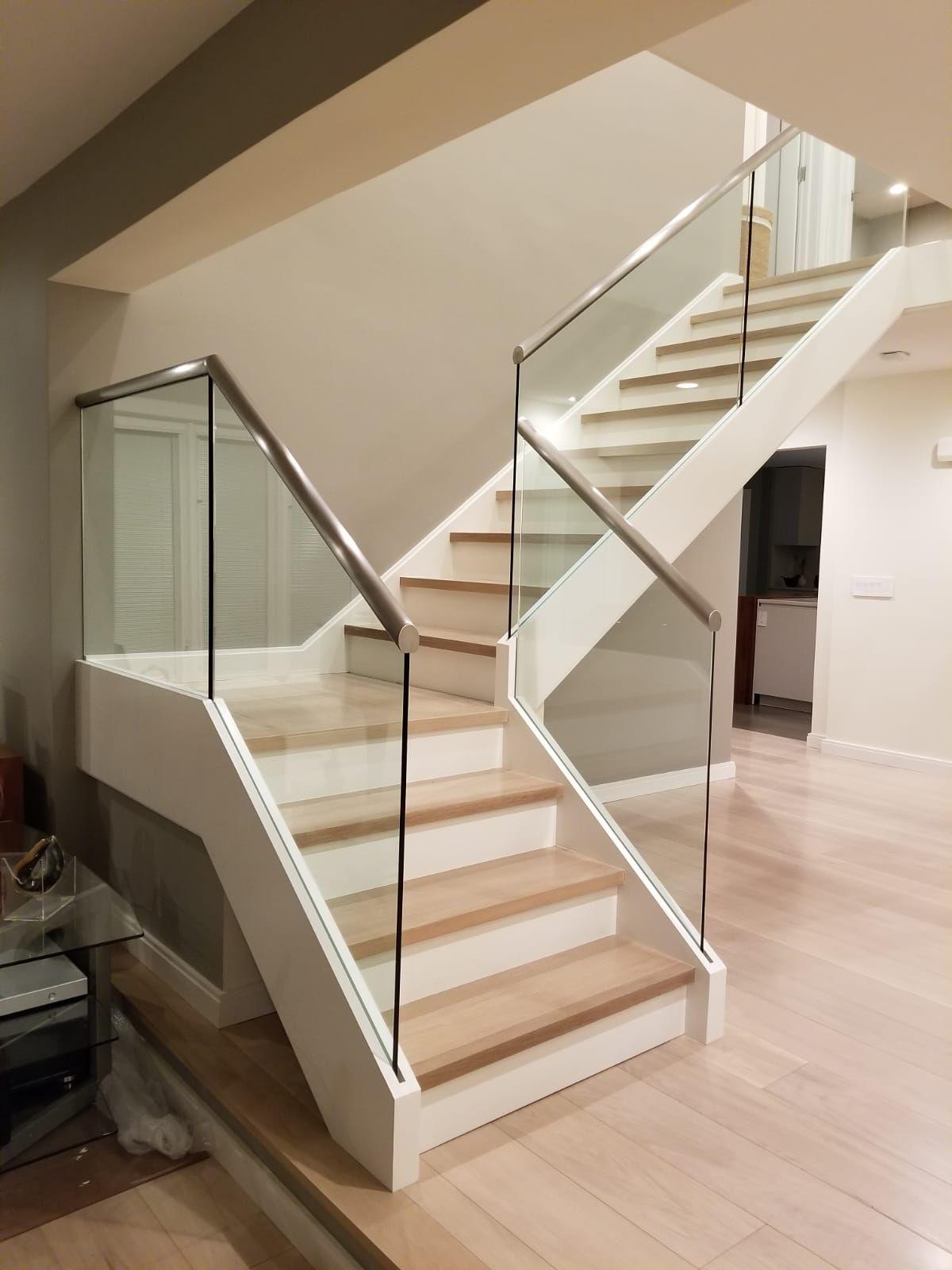 Frameless Glass Railing Systems by Crystalia Glass Stair