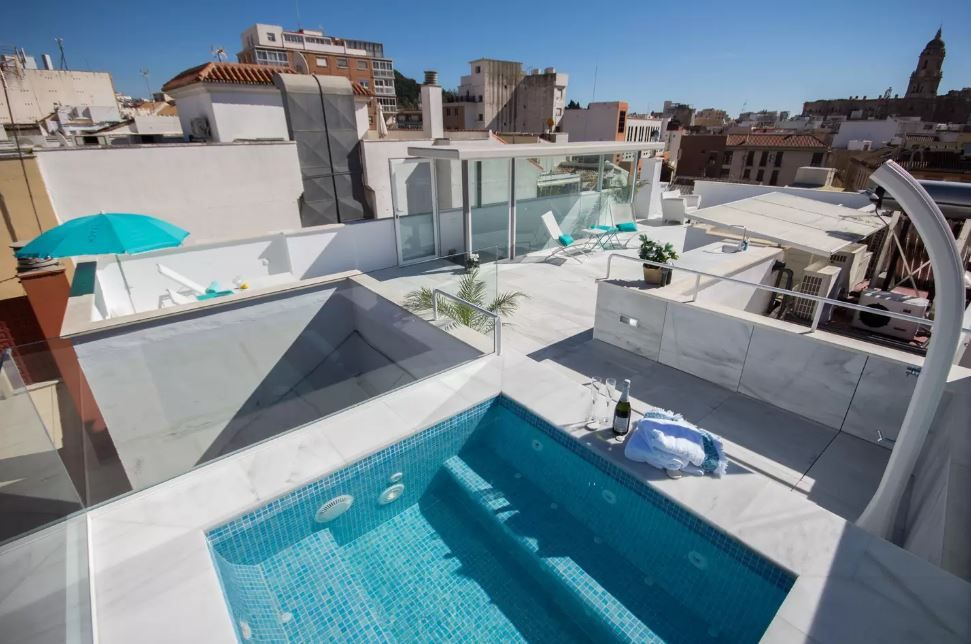 Fabuloso ático De Vacaciones En Málaga Decoración De Unas