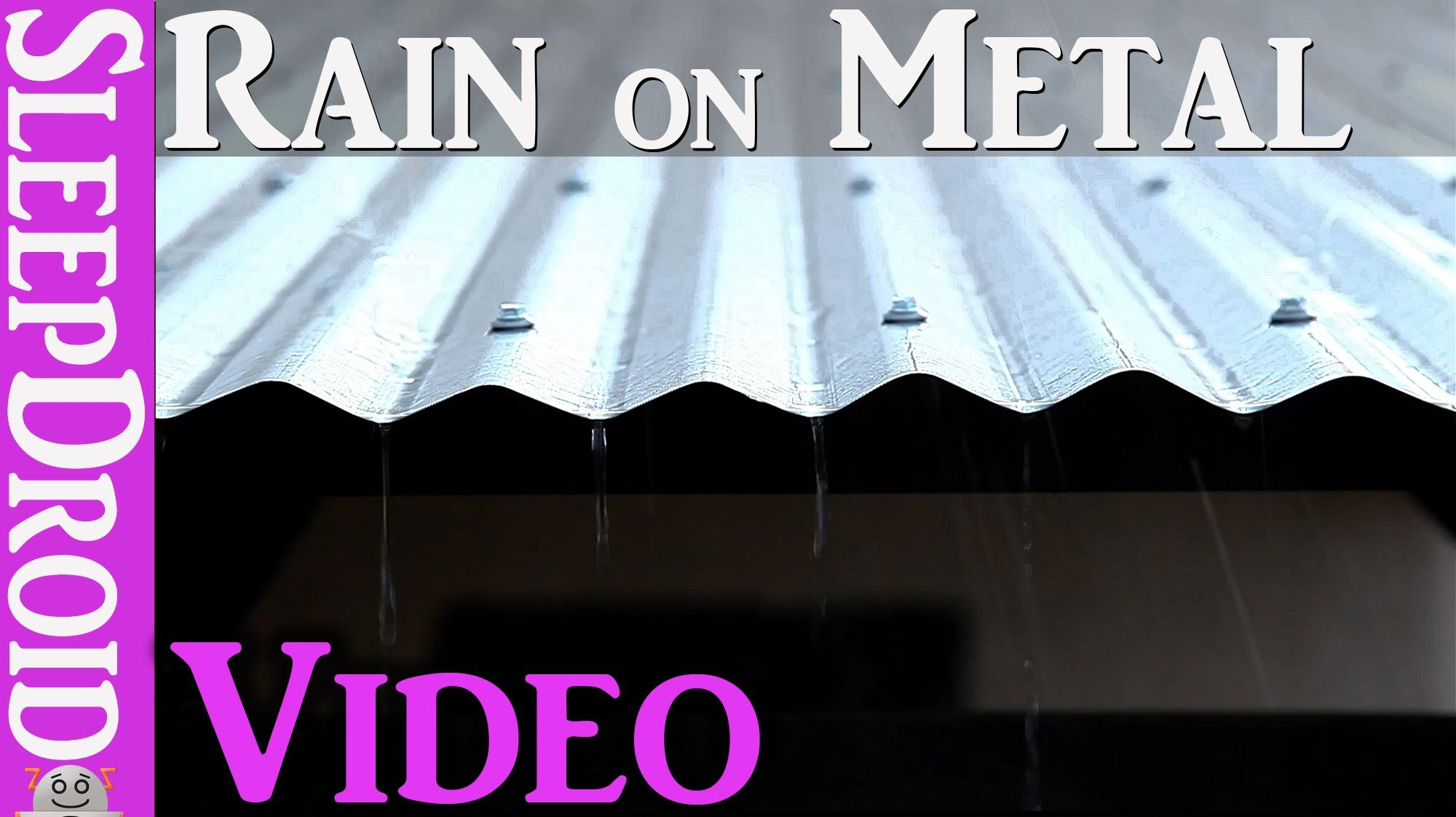 Beautiful Rain On A Tin Metal Roof Video Use This Soothing Video To Relax At The End Of A Hard Day And Get Yourself Ce Rain And Thunder Tin Roof