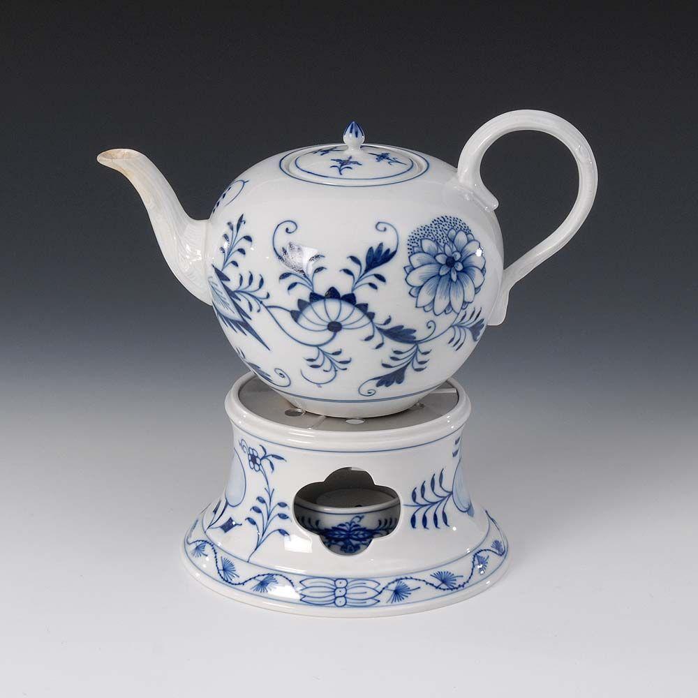 Teekanne Porzellan Mit Stövchen zwiebelmuster stövchen und teekanne meissen knaufschwerter ab