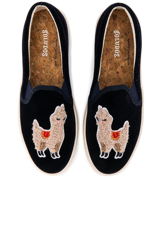 Velvet Llama Sneaker #Shoes #SOLUDOS