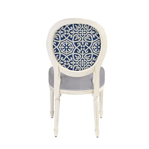 Customize It   Oval Back Louis XVI Side Chair