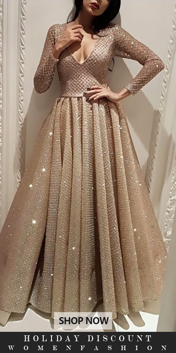 Fashionable V Neck Long Sleeve Solid Color Evening Dress Prom Dresses Long With Sleeves Prom Dresses Uk Bridesmaid Dresses Long Chiffon