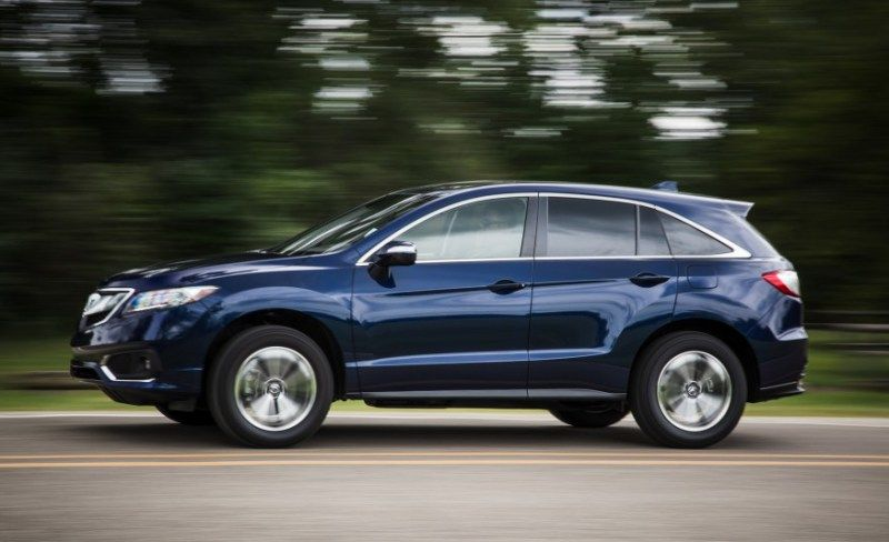 2016 acura rdx car sizzling side view picture acura rdx