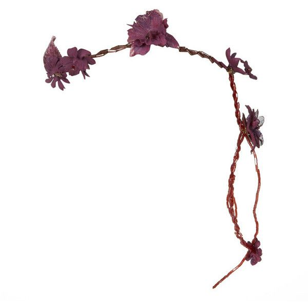 CULT GAIA Athena Headband (437.045 COP) ❤ liked on Polyvore featuring accessories, hair accessories, flower hair accessories, hair bands accessories, leaf hair accessories, headband hair accessories and grecian leaf headband