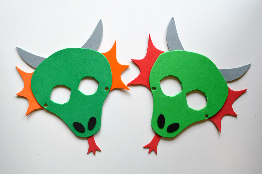 image about Printable Dragon Mask called Cost-free Printable for Individuals lovely dragon masks! Masks in just 2019