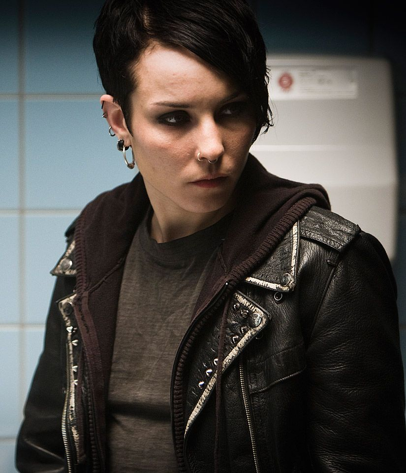 The Girl With The Dragon Tattoo Noomi Rapace... love the