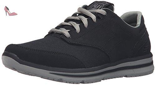 Go Walk 4, Chaussures de Running Homme, Noir (Black), 47 EUSkechers