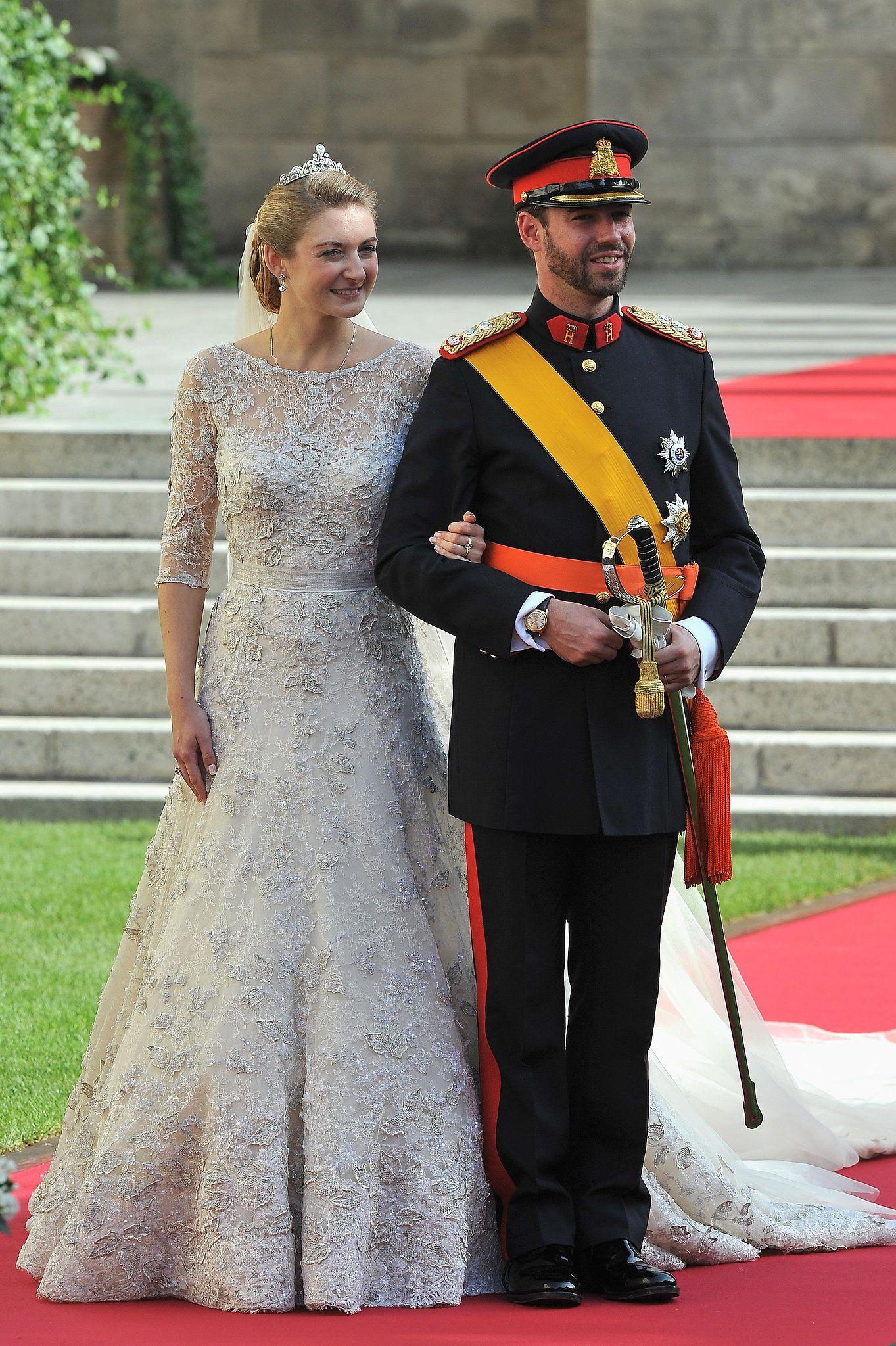 SERIE MARIAGE PRINCIER GUILLAUME ET STÉPHANIE DE LUXEMBOURG