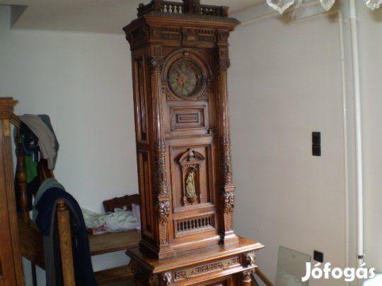 Eladó antik álló faragott óra - Nagykőrös a6189cb449