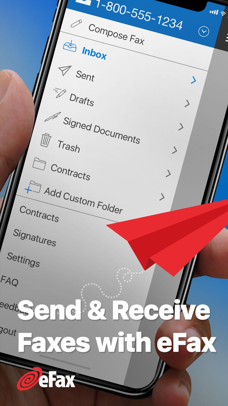 eFax ¨C send fax from iPhone BusinessGlobalios