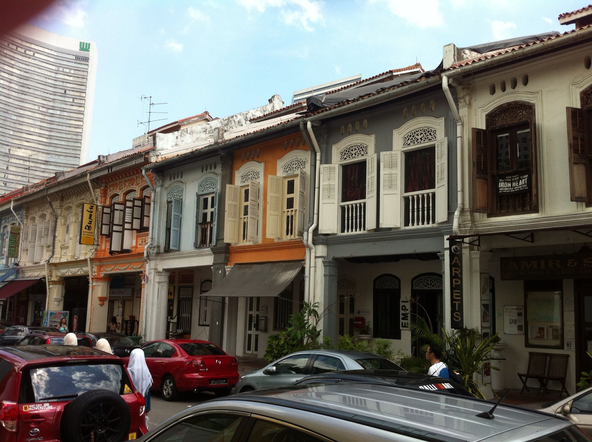 Kandahar Street, near Arab Street Street, Singapore, Views