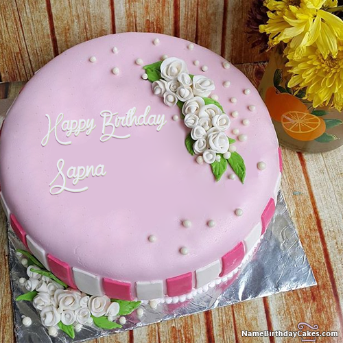 The name [sapna] is generated on Happy Birthday Images  Download or