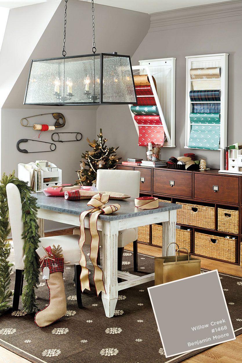 Home Office With Ballard Designs Furnishings Benjamin: Paint Colors From Oct-Dec 2015 Ballard Designs Catalog