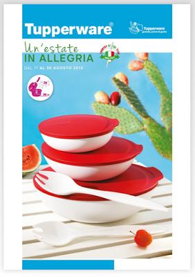Nuovo Volantino Offerte Tupperware 17 30 Agosto 2015