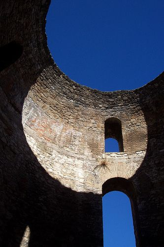 Image result for oculus diocletian's palace in split croatia