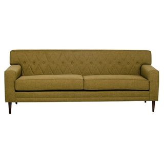 Inncdesign Green Mid Century Nicolette Quilted Sofa Ping The Best Prices On Sofas Loveseats
