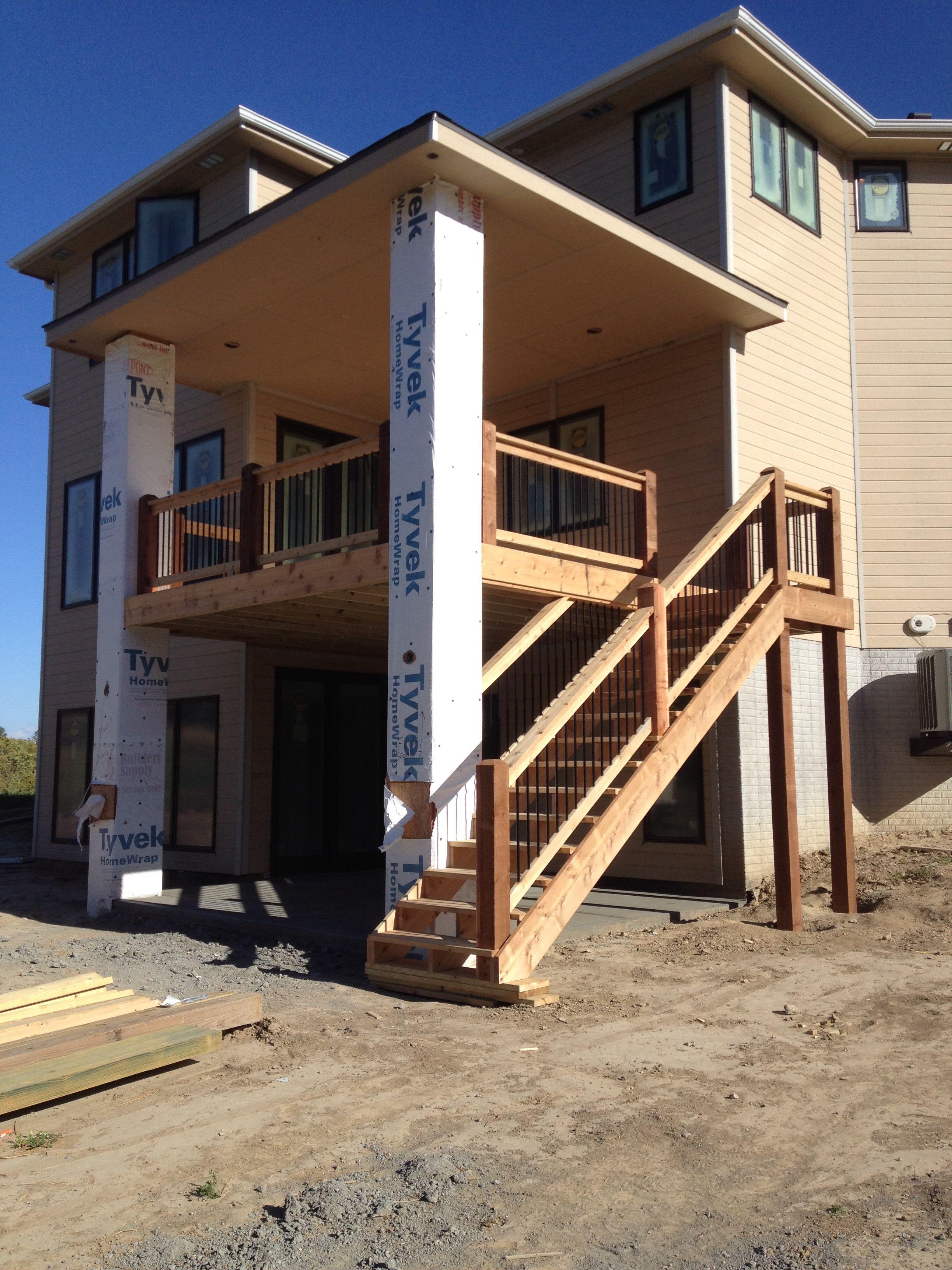 Cedar Deck/Fascia/Rails-South Hamptons-Gretna, NE-NRT Contracting