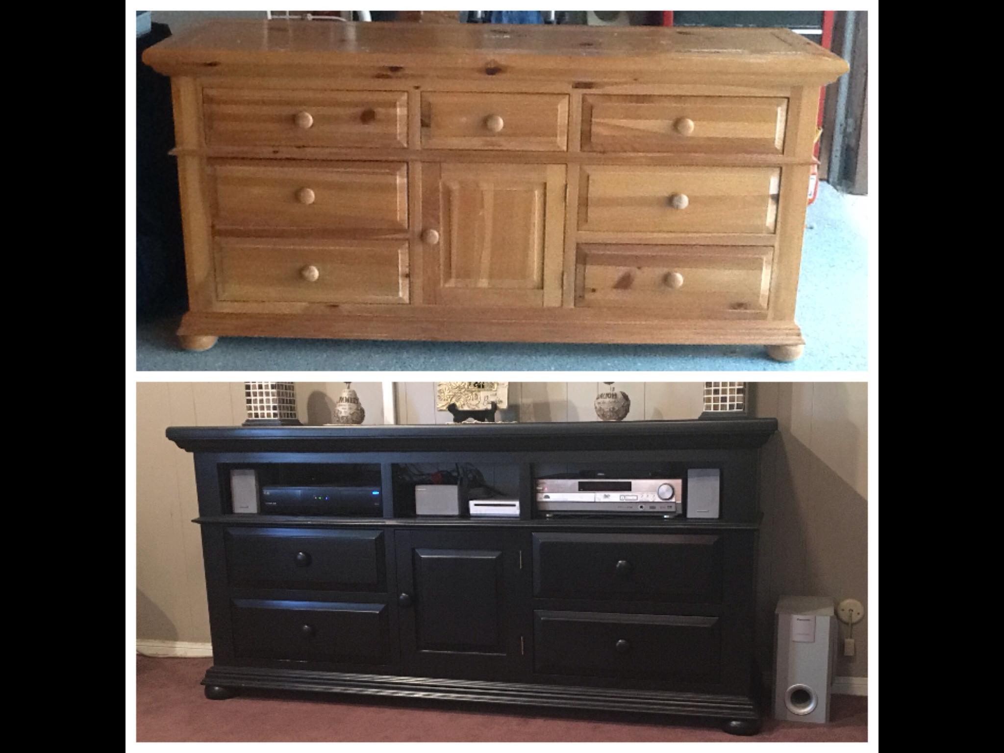 Best Broyhill Dresser To Media Stand Found This Dresser In A 640 x 480