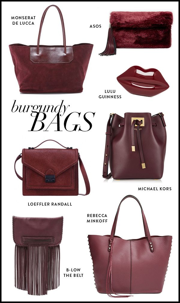 Best Of Burgundy Bags For Fall