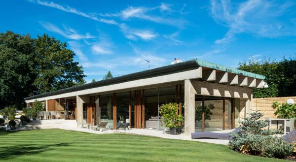 The Ahm House by Jorn Utzon