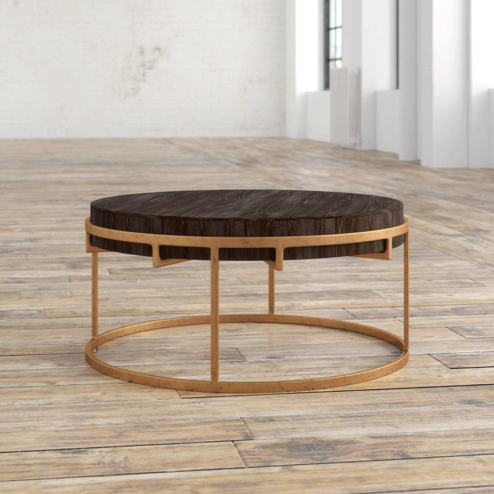Carnesville Frame Coffee Table In 2021 Coffee Table Round Coffee Table Table [ 1600 x 1600 Pixel ]