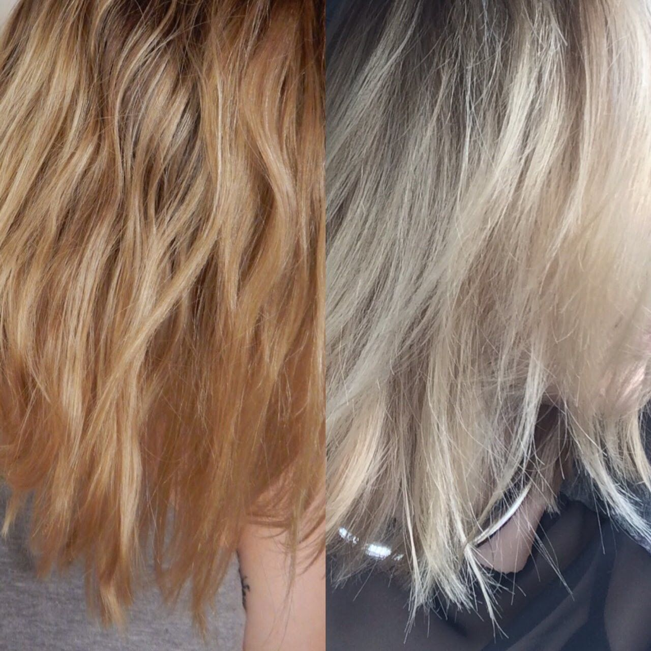 Demo At 3 20 Watch In Hd New Video Of Toning My Blonde Bit Ly X2f 1pyo5ej How I Tone My Medium Light Brassy Hair Brassy Blonde Hair Blonde Hair At Home