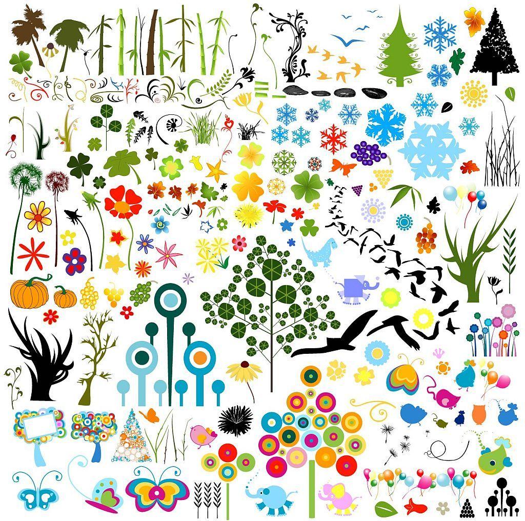 植物・動物・お花など無料イラスト(クリップアート)素材集 - free
