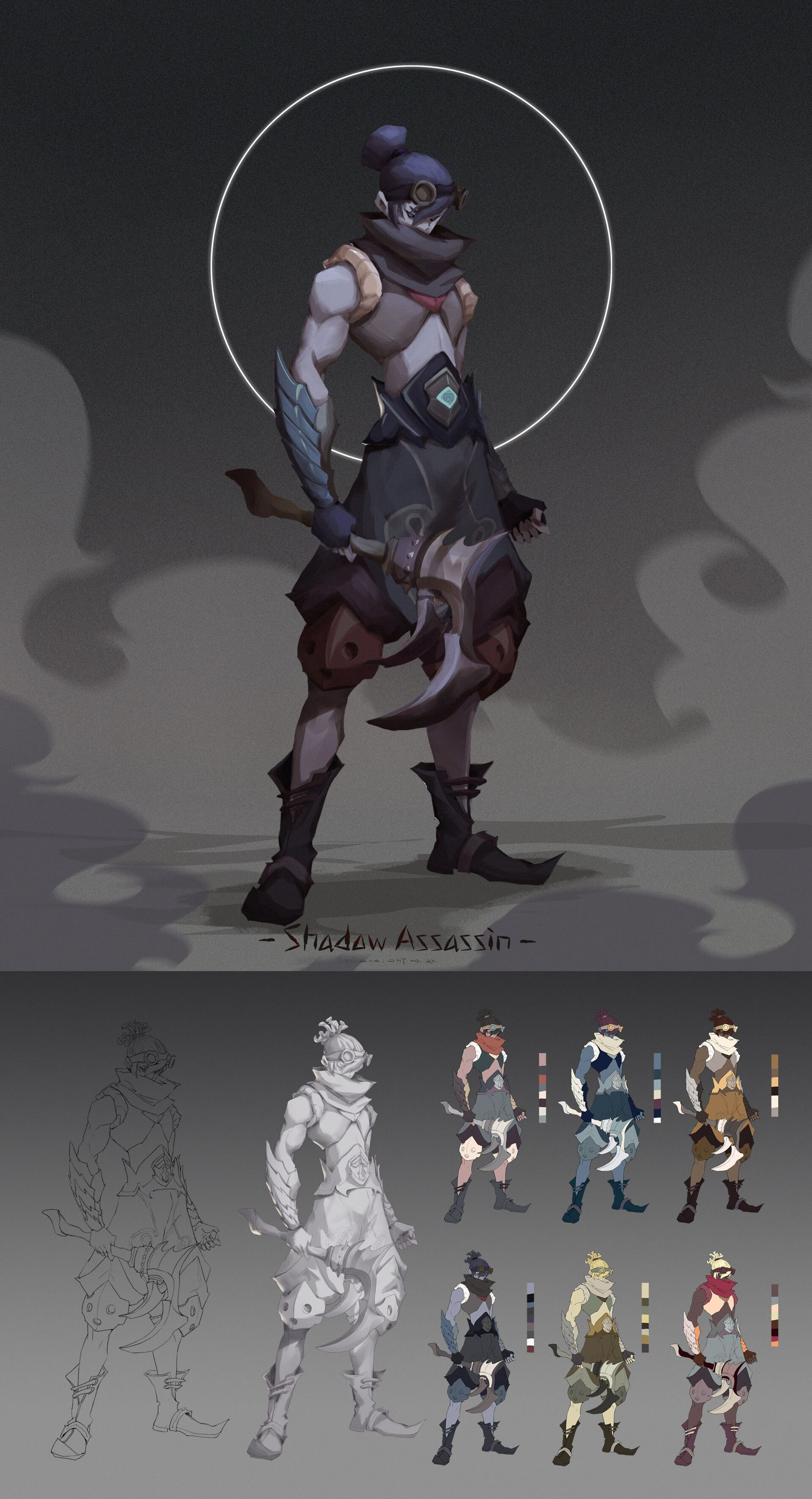 Shadow Assassin/Role design Shadow, Assassin, Artwork