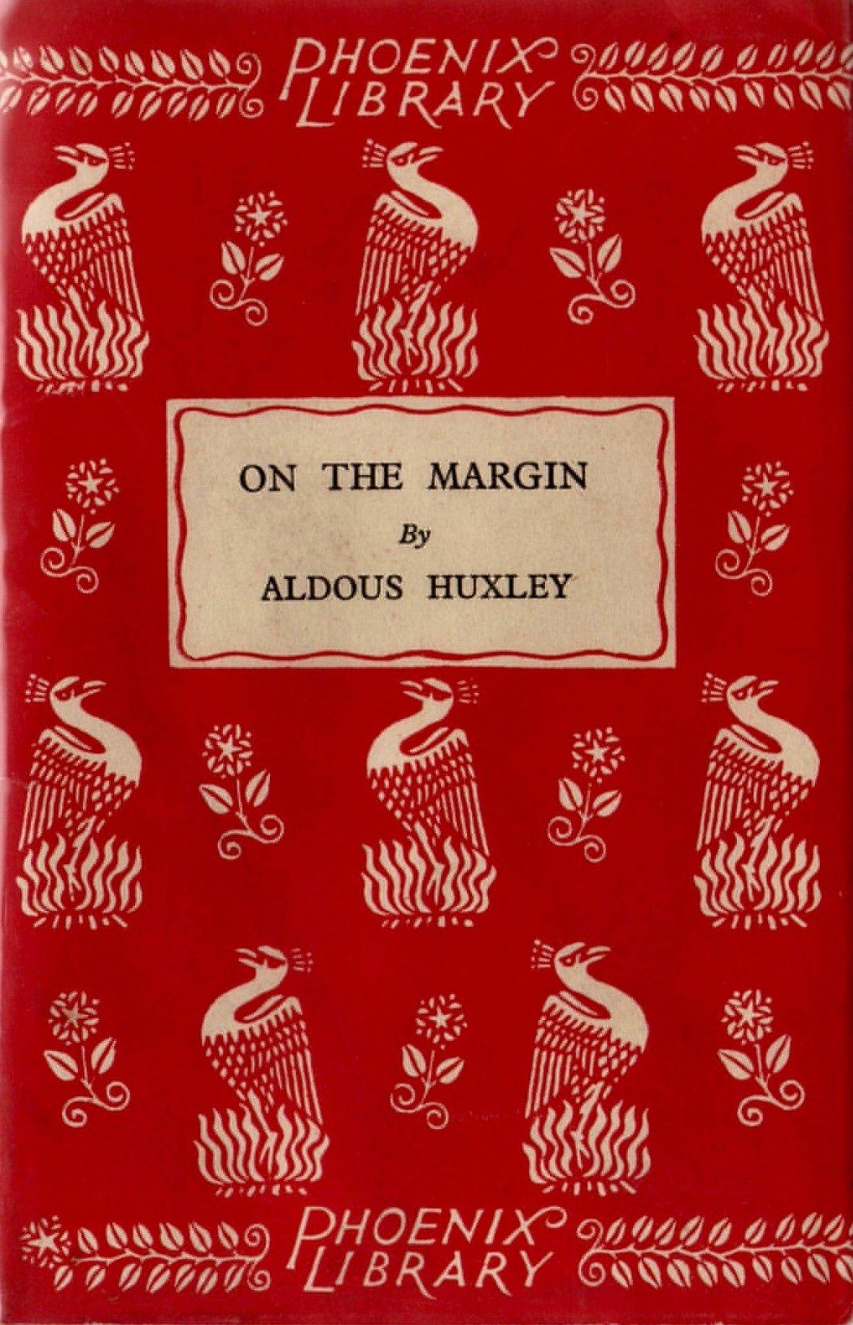 Vintagebookcover Patterns Aldoushuxley Vintage Book Covers Book Design Vintage Book Cover