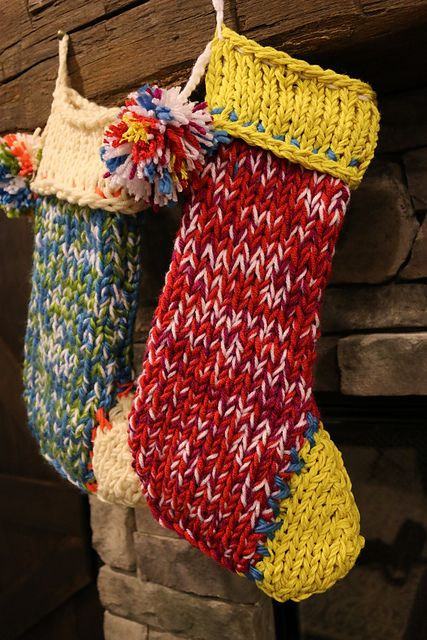chunky stocking knit stockingsknitted christmas