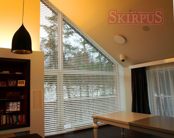 Blinds For Trapezoid Windows Wooden Large Trapezoidal Shaped Vertical Window